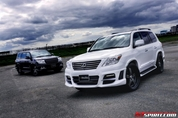 Black Bison Edition Lexus LX570 Wald International